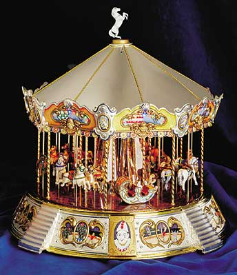 Luxury Hand Crafted Musical Carousels from Magical Music Boxes UK ...